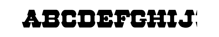 57 Rodeo OT  font caratteri gratis