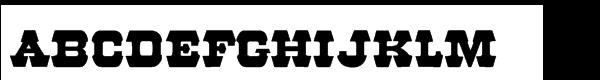 57 Rodeo Regular  font caratteri gratis