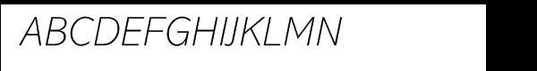 Abadi® Extra Light Italic  नि: शुल्क फ़ॉन्ट्स डाउनलोड