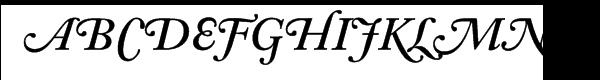 Adobe Caslon™ SemiBold Italic Swash  Free Fonts Download