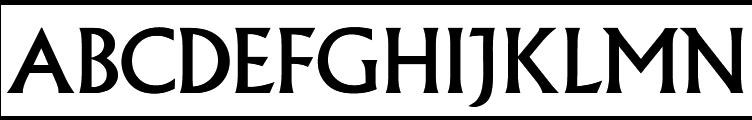 Albertus Regular  Free Fonts Download