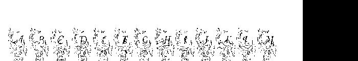 Allerlei Zierat Capitals  नि: शुल्क फ़ॉन्ट्स डाउनलोड