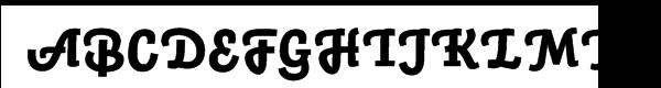 Auto 3 Black Italic  नि: शुल्क फ़ॉन्ट्स डाउनलोड