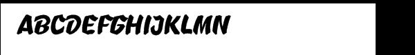 B-Movie™ Splatter Clean  フリーフォントのダウンロード