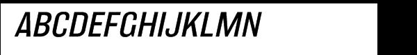 Balboa™ Wide Light Italic  Free Fonts Download
