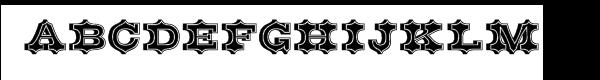 Belgian Inline  Free Fonts Download