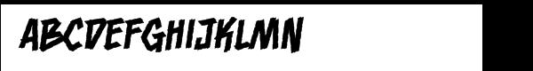Bloody Murder BB Regular  Free Fonts Download