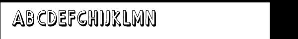 CASU Aérospatiale Facile 3D  Free Fonts Download