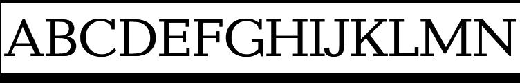 Candida Regular  Free Fonts Download