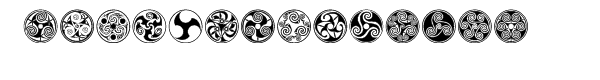Celtic Ornaments BA  Free Fonts Download