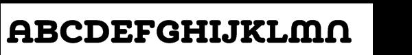 Chennai Slab Std Black  les polices de caractères gratuit télécharger