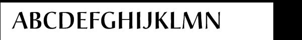 Christiana Pro BE Medium  Free Fonts Download