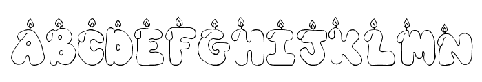 CK Candles  Free Fonts Download