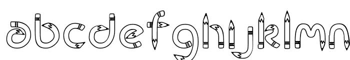 CK Rubber Pencil  नि: शुल्क फ़ॉन्ट्स डाउनलोड