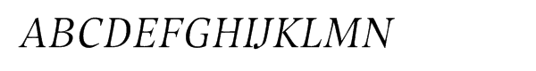 Compatil® Exquisit Central European Italic SC  Free Fonts Download