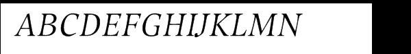 Compatil® Exquisit Pro Italic  Free Fonts Download