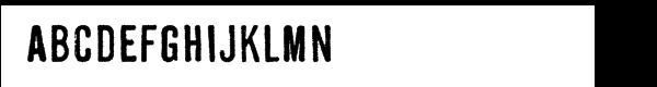 DF Shenzhen Industrial  Free Fonts Download