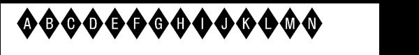 Diamond™ Negative  नि: शुल्क फ़ॉन्ट्स डाउनलोड