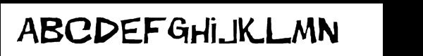 Dirt Devil  Free Fonts Download
