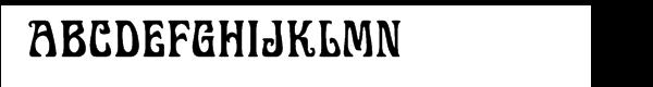 Display Art Three  Free Fonts Download