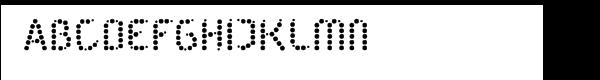 Dot'Noir Zero  Free Fonts Download