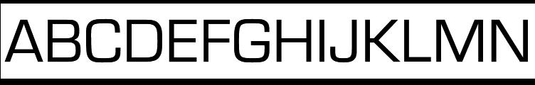 Eurostile Discaps Regular  Free Fonts Download