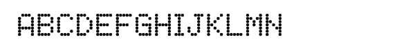 FF Dot Matrix Two Regular  Free Fonts Download
