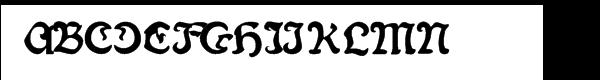 Fin Fraktur Versalete  les polices de caractères gratuit télécharger