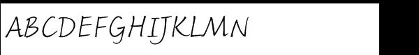 Fineprint™ Std Light  Free Fonts Download