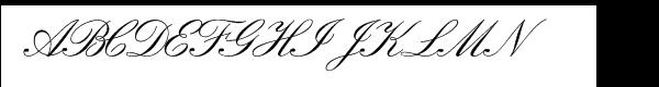 Florentine Script II  フリーフォントのダウンロード