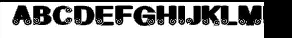 Geodec Spyral Lined  नि: शुल्क फ़ॉन्ट्स डाउनलोड