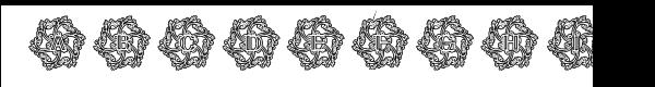 Glaciana Decorative Outline  フリーフォントのダウンロード