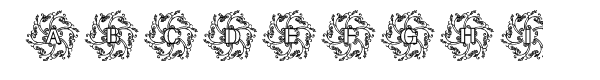 Glaciana Decorative  Free Fonts Download