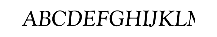 Goudy Catalogue Regular Italic OT Std  Free Fonts Download
