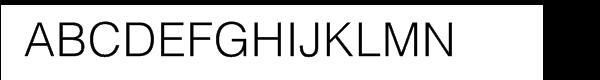 Helvetica® Com Light  Fuentes Gratis Descargar