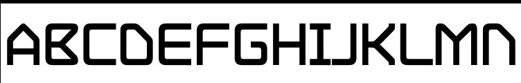 Hydrogen Bold  Free Fonts Download