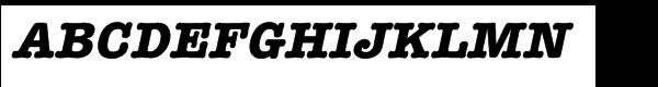 ITC American Typewriter Hellenic Std Bold Italic  font caratteri gratis
