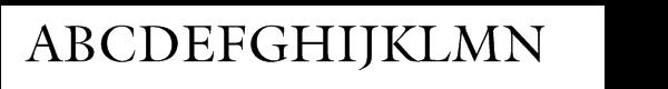 ITC Galliard® Regular  Free Fonts Download