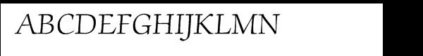 ITC Zapf Chancery® Light  नि: शुल्क फ़ॉन्ट्स डाउनलोड