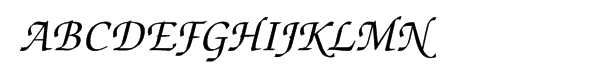 ITC Zapf Chancery Pro Medium Italic  Free Fonts Download