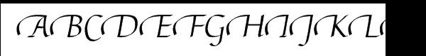 Linotype Gaius™ Regular Swash End  Free Fonts Download