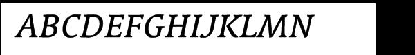 Linotype Syntax™ Serif Medium Italic  Free Fonts Download