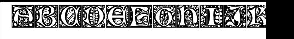 LTC Jacobean A™  Free Fonts Download