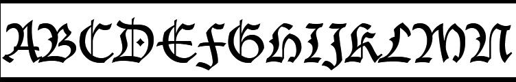 Lucida Blackletter Regular  Free Fonts Download