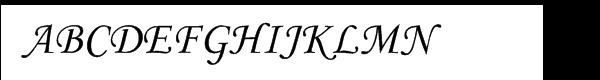 Monotype Corsiva® Turkish  フリーフォントのダウンロード