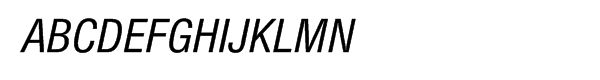 Neue Helvetica™ Cyrillic 57 Condensed Oblique  フリーフォントのダウンロード