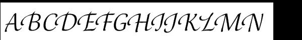 Orbi Std Multilingual Calligraphie Two  Скачать бесплатные шрифты