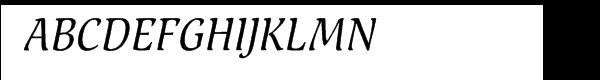 Pallada Cyrillic Italic  Free Fonts Download