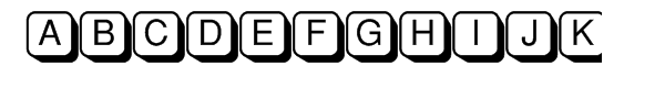 PIXymbols Shadowkey  Free Fonts Download