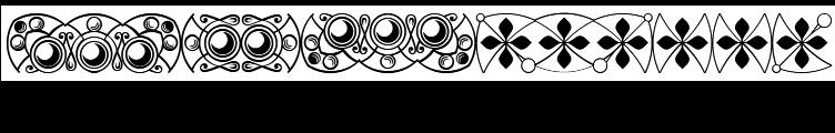 Polytype-Brutus II Frames  Free Fonts Download